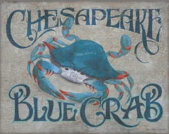 Chesapeake Blue Crab  Print