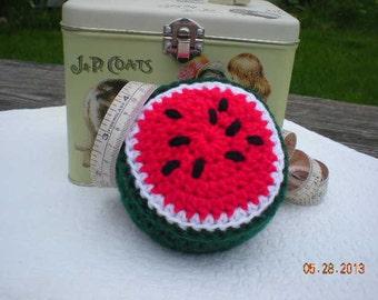 Crochet Watermelon Pincushion