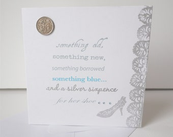 Silver Sixpence card