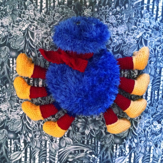 Woolly & Tig Spider Toy Crochet Pattern PDF from ...