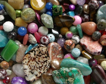Gemstone Beads by the Pound