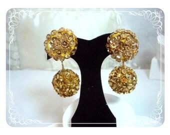Big Disco Ball Sequine Earrings   E209a-040812000
