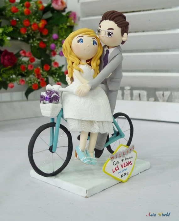 vegas wedding cake toppers uk wedding cake topper wedding clay in las vegas with 21576