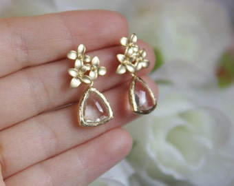 earrings, bridesmaid gift, bridal jewelry, bridal earrings, Valentine's gift