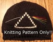 Pattern-Dark Side of the Moon Pink Floyd Hat