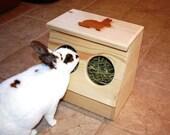 Bunny Rabbit Hay Feeder