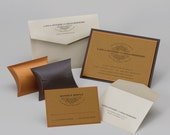 RESERVED Listing for CHRISTIE -- Forty (40) Custom Wedding Invitations in Custom Colors, 5x7