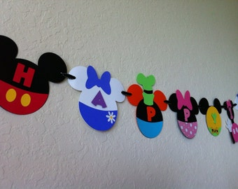 Deluxe Mickey Mouse Clubhouse Banner