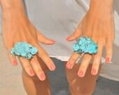 Exotic Turquoise Stone Ring