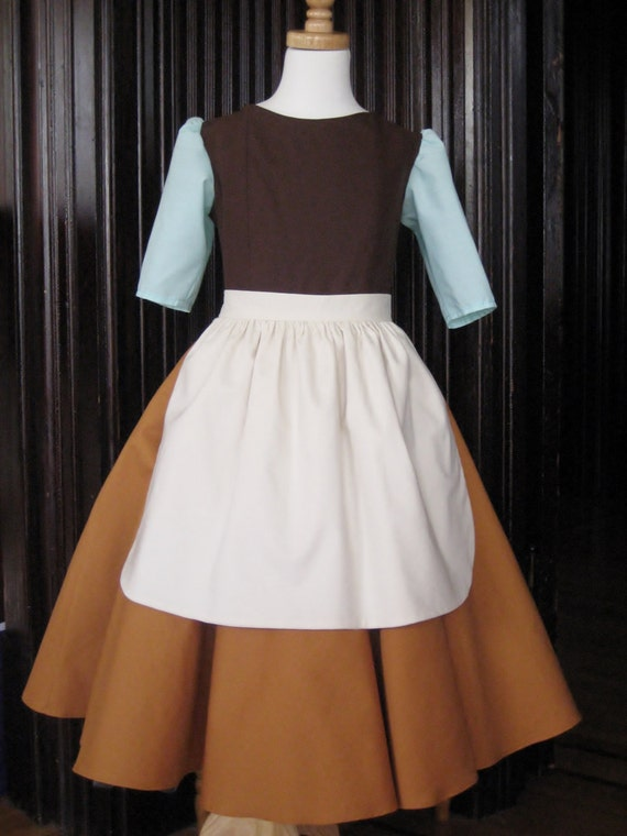 Items Similar To Girls Cinderella Rags Costume On Etsy