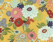 Moda PB&J Daisy Mae Picnic Yellow Basic Grey Quilting Cotton 1 Yard