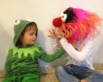 Animal costume. Animal from the muppet show original handmade costume- head piece only
