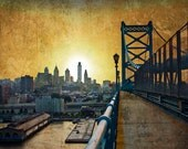 Philadelphia Skyline Print - 13'' x 19''
