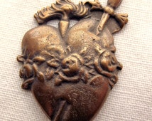 Bronze Immaculate Heart Medal