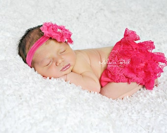 pink bloomer set..bloomer sets..bloomers..baby girl bloomer set..girls pink bloower set..lace pink bloomers..lace bloomer.baby girls bloomer