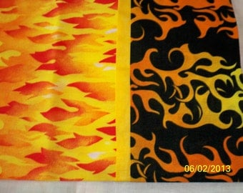 Orange Flames Pillowcase