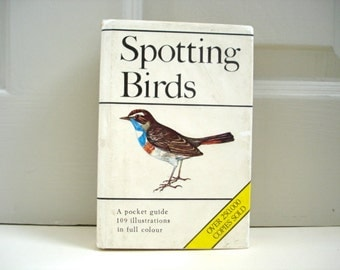 Vintage Bird Book - Bird Spotting