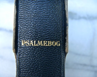 1897 Danish Psalm Book in Box - Antique Danish Book, Psalmebog(Psalmbook) - Small Antique Religious Book, 1800s