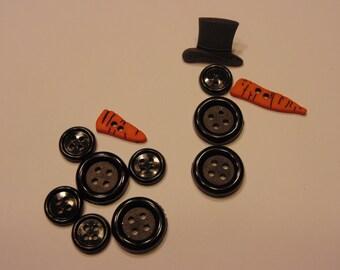 12 piece, build a snowman button set , 13-30 mm (6)