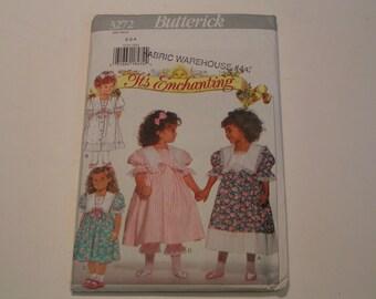 Butterick Pattern 3272 Its Enchanting Child Dress Pantaloons