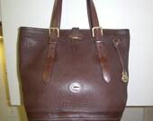 Dooney and Bourke Extra Large Brown Tote Shoulder Bag