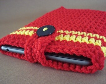 iPad mini Cover - Nook Tablet Cover - Kindle Fire cover - handmade crochet