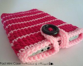 iPad mini - Nook - Kindle - case cover - handmade crochet