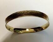 Yellow Brass Bangle Brace...