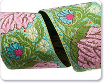 "AMY BUTLER 1.5"" ribbon--Alchemy--Pink Blossom--price is per yard"