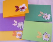 Handcrafted note cards-gift cards-thank you cards