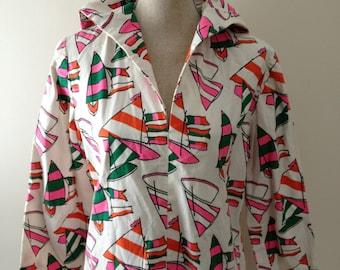 SAILOR Pullover/ Neon/Handmade