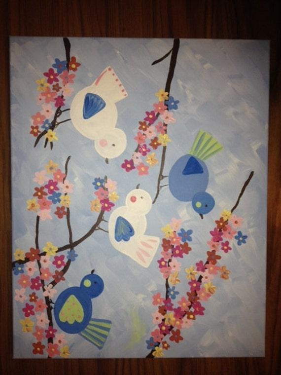 Kids Cherry Blossom Pottery Art To Match Kids By