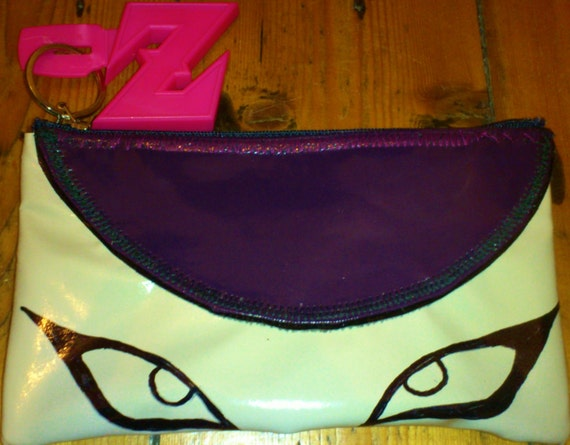 Dragonball Z Frieza/Freeza Tribute Wallet/Purse handmade and drawn