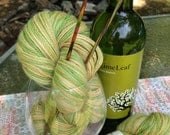 "100% baby alpaca Hand Painted DK weight yarn ""Earth"" 200 Yds 80 gm"