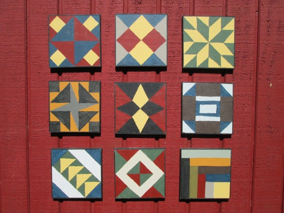 Items Similar To Barn Quilt Civil War Barn Quilt 9