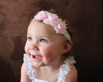 15% OFF, Baby Headbands, Flower Headband, Newborn Headband, Headband, Baby Bows Headband, Baby Bow, Pink baby girl bow