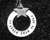 Gold Star Lesbian Necklace