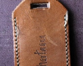 Leather Hartmann Tag
