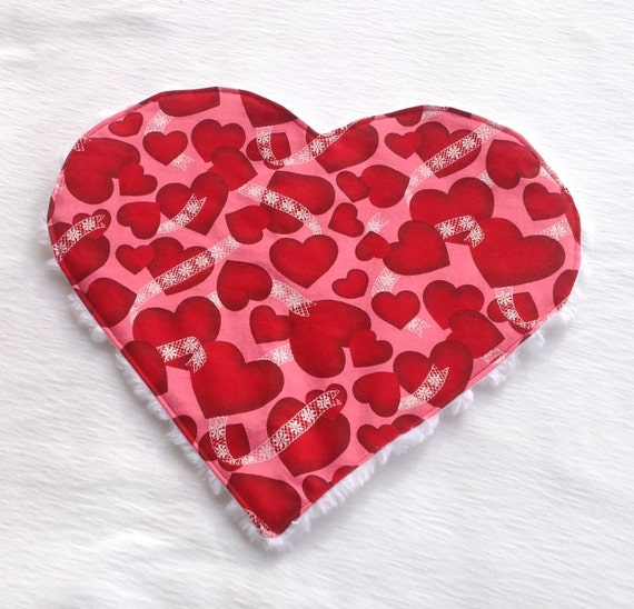 Valentine Heart Lovey Blanket