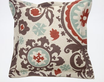 SALE Suzani Nile Denton Pillow covers, Fall pillow cover