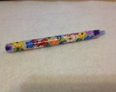 Polymer Clay covered Loom Knitting Styler Pen