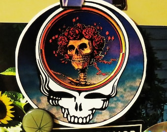 Steal Your Face / with Bertha / Grateful Dead / High Quality Vinyl Sticker