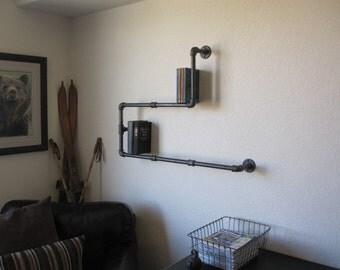 Stout Two Level Book Shelf Pipe Shelf