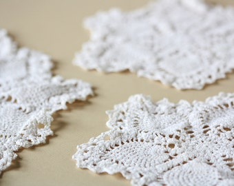 Hand Crocheted Doilies Instant Collection