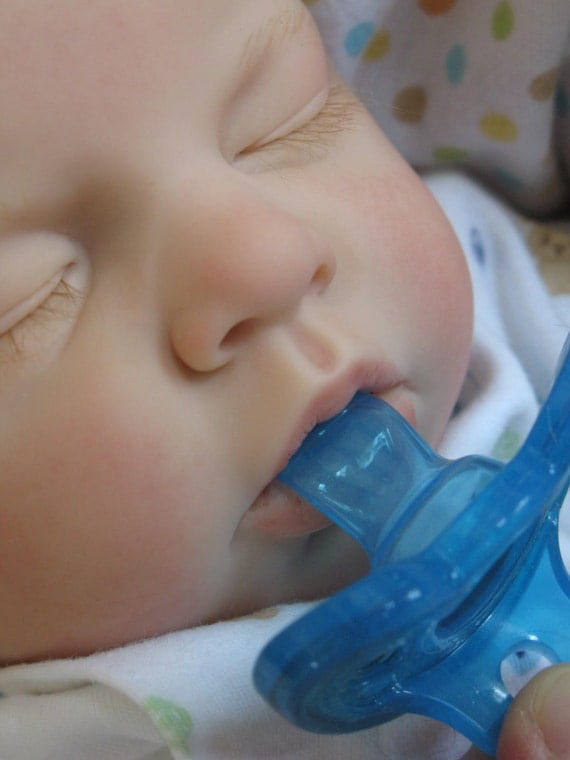 Sale Open Mouth Reborn Baby Boy Takes A Full By