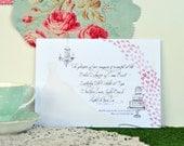 DIGITAL PRINTABLE FILE Watercolour Bridal Shower Invitation