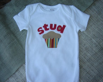 Custom Stud Muffin Onesie/Shirt