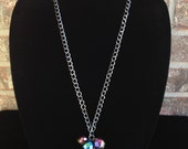 Multicolored Necklace- Long Necklace- Statement Necklace- High Fashion Necklace