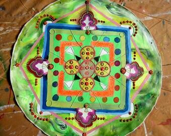 Game On (Intricate technicolor mandala)