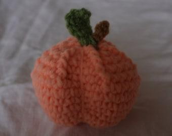 crochet peach